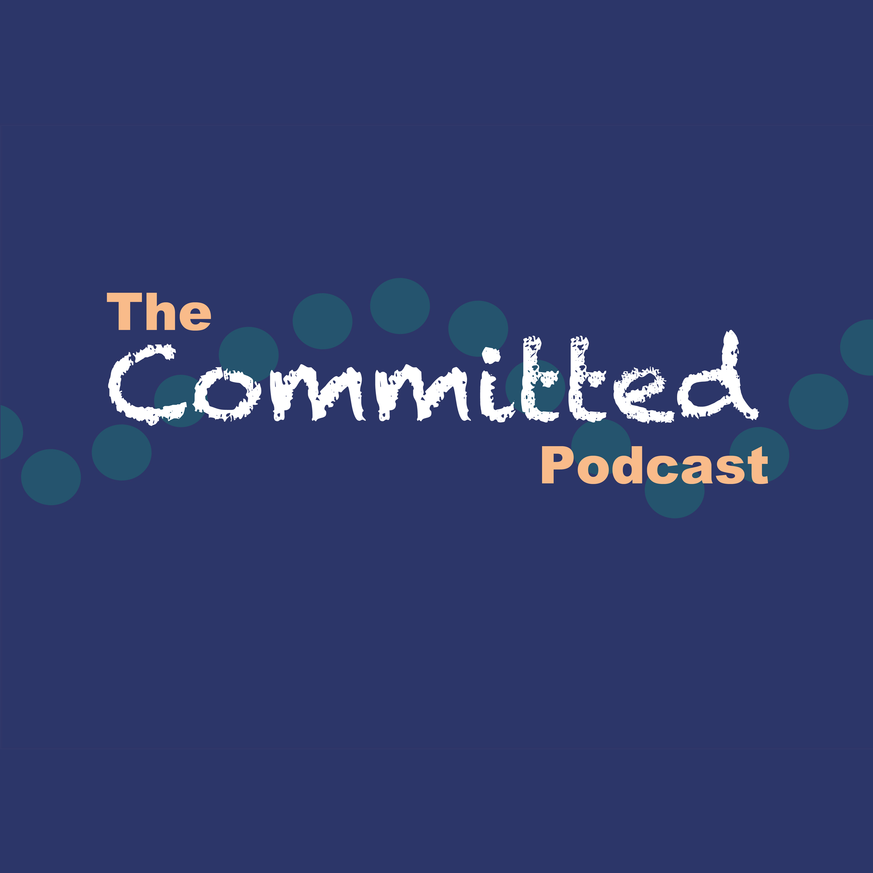 Logo for The Committed Podcast